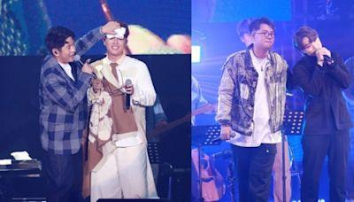 吳林峰首個個唱獲許廷鏗體貼抹汗 Jer登場掀全晚高潮