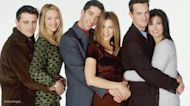 Jennifer Aniston tell Lisa Kudrow that she 'couldn't hold it together' during the filming of this scene from 'Friends'