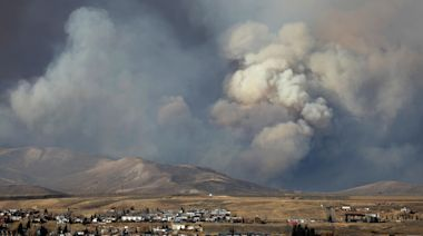 Colorado firefighters battle the state's largest wildfires in history