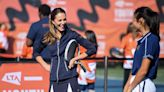 Duchess Kate Shows Off Toned Legs in Short Skirt While Playing Tennis