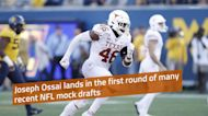 Joseph Ossai lands in first round of most recent NFL mock draft