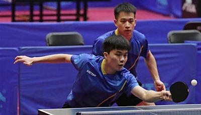 林昀儒全運會桌球男雙摘金 願望是想放長假