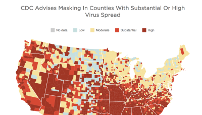 Do you need to wear a mask indoors? Check this map