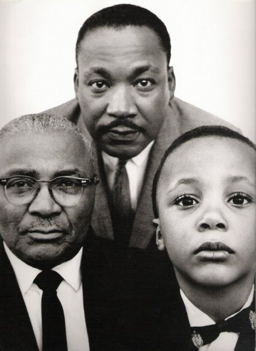 ... martin luther king sr martin luther king jr martin luther king iii