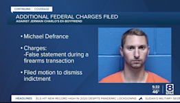 Missing Dixon woman's ex-boyfriend facing additional firearms charges