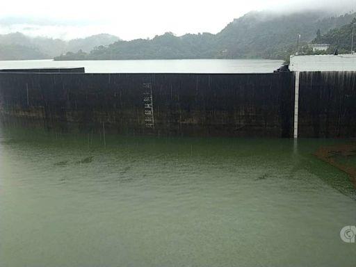 持續降雨 曾文水庫蓄水2個月激增逾4億公噸