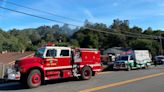 Vegetation fire threatens house in Atascadero