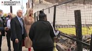 VP Mike Pence and Ivanka Trump visit salon damaged by Minneapolis unrest