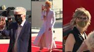 "Almodovar, Tilda Swinton and cast of Bosnian film ""Quo vadis, Aida ?"" hit Venice red carpet"