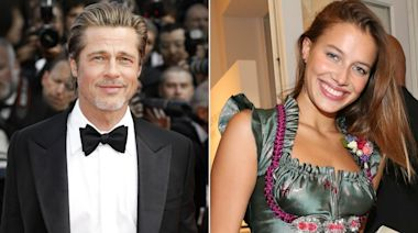 Brad Pitt and Nicole Poturalski Call It Quits: 'They Were Never a Big Deal'