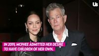 Pregnant Katharine McPhee Shows Baby Bump Progress on Walk With David Foster