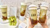 萬波首推「青葡萄奶蓋」!綠葡萄+愛玉凍+奶蓋超誘人,原茶加20元變奶蓋茶