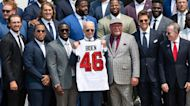 Biden welcomes Tampa Bay Buccaneers to the White House to celebrate Super Bowl championship