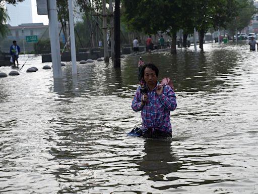 中國河南一大河多處決堤 133個縣受災大片村鎮被淹