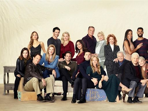 See the 55th anniversary cast photo for Days of Our Lives