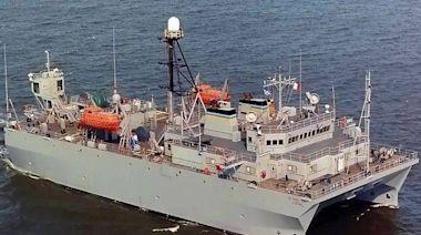 中國山東號航艦南海足跡曝光 美軍監視船高強度偵察