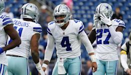 Report: Prescott to miss Monday practice; Cowboys eye Week 8 return