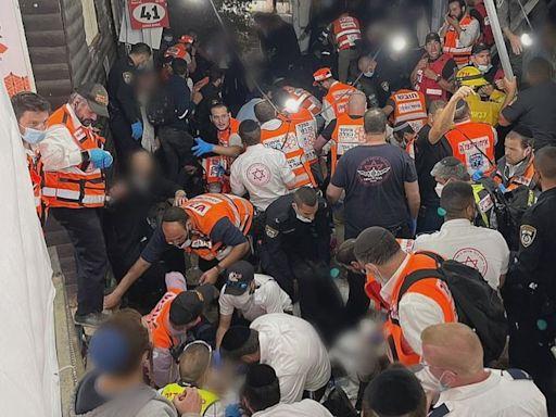 以色列宗教活動人踩人至少44死 疑因梯級濕滑引致