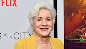 Olympia Dukakis celebrates 89th birthday with drive-in documentary screening