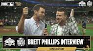 """""""This is what baseball is all about"""" — Brett Phillips speaks on his experience at the World Series I Flippin' Bats"""