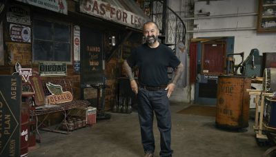 Frank Fritz will not be returning to American Pickers