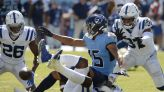 Colts open as 1.5-point underdogs to Titans in Week 8