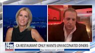 California restaurant only wants unvaccinated customers, owner battles CNN's Cuomo