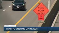 Traffic volume up is up in 2021