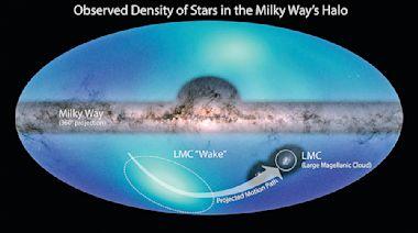 銀河系外圍 發現暗物質海洋證據
