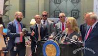 Protesters Interrupt Gaetz and Greene Press Conference in Washington