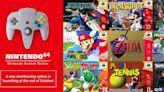 歐洲任天堂確認Switch上的重製版N64遊戲一律改為60Hz執行