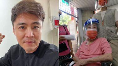 劉至翰102歲阿媽 疫苗打完就開喝