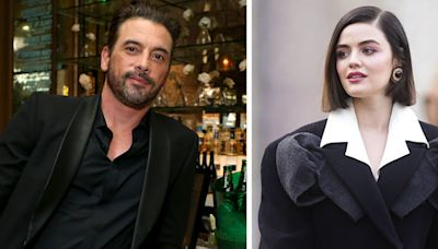 Lucy Hale and Riverdale's Skeet Ulrich Were Photographed Kissing