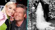 Gwen Stefani Celebrates Marrying Blake Shelton 2 Weeks Ago With Intimate Wedding Shot