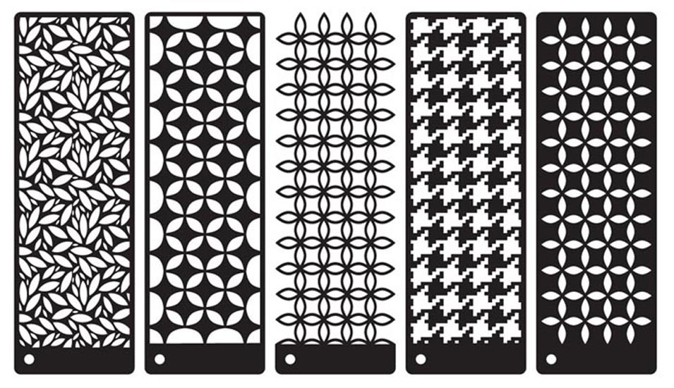 Prima - Stencils Mask Set - Sublime Screens - Mix 4