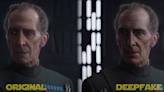 盧卡斯影業聘請以 DeepFake 修改《星際大戰》動畫臉孔的知名 YouTuber