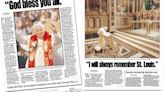 1999: The Pope's trip to St. Louis was a whirlwind 31-hour visit