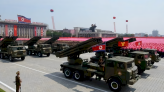 北韓召開黨代表大會期間 舉行閱兵儀式