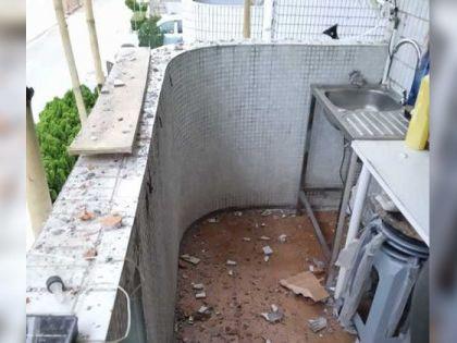 Juicy叮 樓上裝修樓下淪陷 住戶:露台變垃圾崗室內漏水