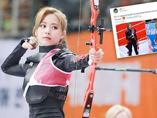 【誤會大了】巴西網友Po周子瑜絕美照 「我愛上了台灣射箭代表」推特瘋傳--上報