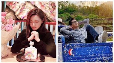 湯洛雯34歲生日曬彩虹小馬蛋糕獨照 網民質疑男友馬國明行蹤