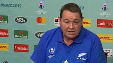 All Blacks coach names his team to face South Africa for their Rugby World Cup opening game
