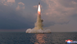 North Korea claims latest missile test new weapon launched from submarine