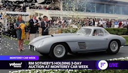 RM Sotheby's previews big auction at Monterey Car Week