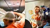 中英對照讀新聞》Flight attendants train in self-defense amid spike in unruly passengers 野蠻乘客激增 空服員接受自衛訓練- 中英對照讀 - 自由電子報
