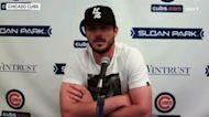 Cubs 3B Kris Bryant reacts to Mets trade rumors