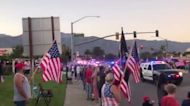 Marine Killed in Afghanistan Honored by Procession in California Hometown