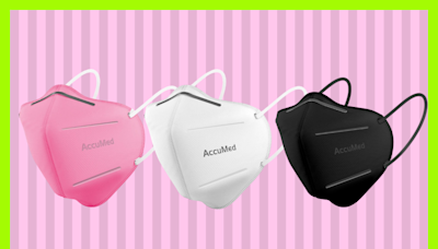 Amazon shoppers are scooping up these AccuMed face masks—they're just $17 for 10