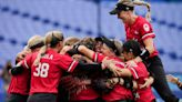 Canada takes bronze for first-ever softball medal