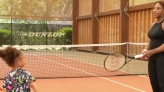 Watch Serena Williams Give Daughter Olympia a Tennis Lesson